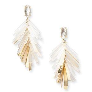 Kendra Scott Jasper Earrings in Gold